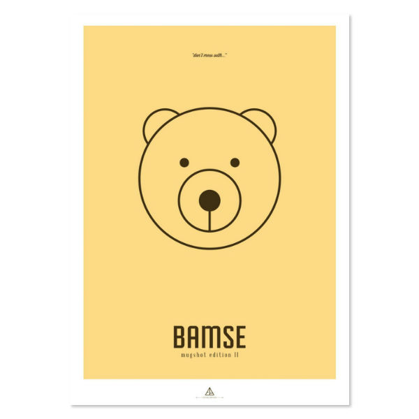 """Image of First Edition - """"Bamse"""""""