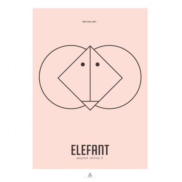 """Image of First Edition - """"Elefant"""" (Pink)"""