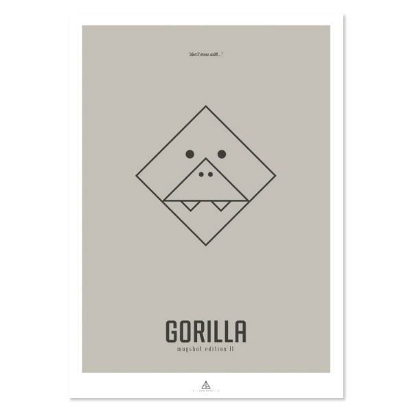 """Image of First Edition - """"Gorilla"""""""