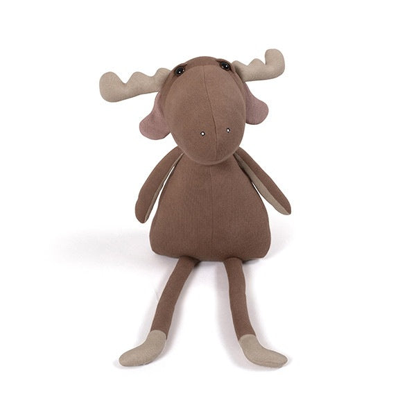Milo The Moose Bamse - Brownie