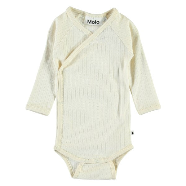 Pearled ivory Faye body fra Molo til baby - Lillepip.dk