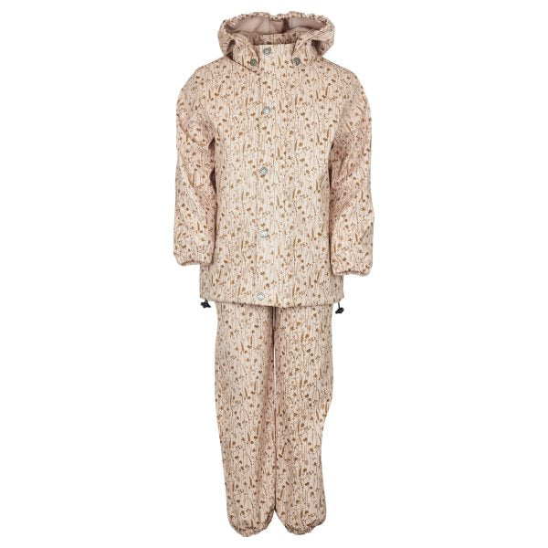En Fant Rainwear Set AOP - Cameo Rose