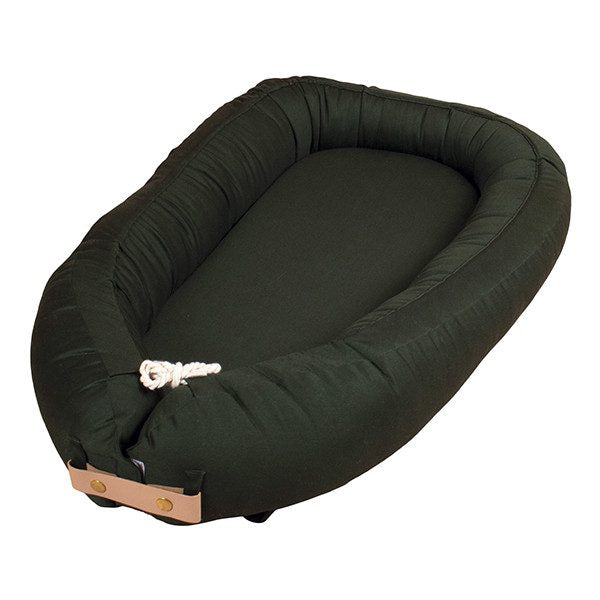 Filibabba Babynest - Dark Green