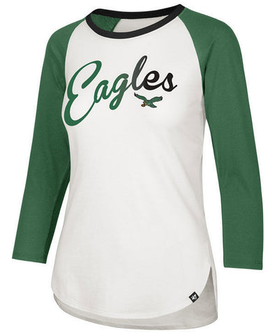 Women's Eagles Splitter Raglan Long Sleeve T-Shirt