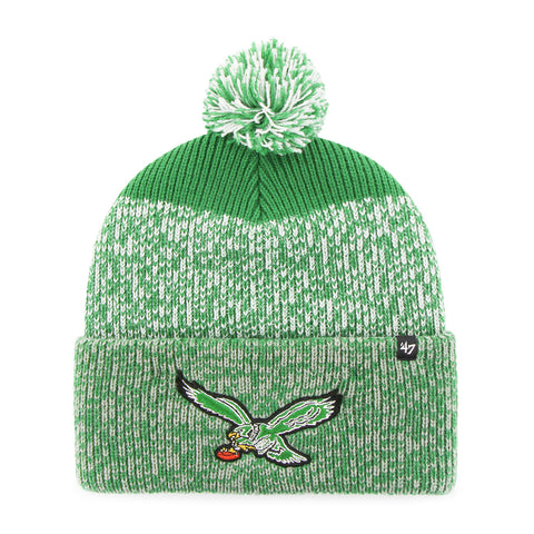 Eagles Static Cuffed Winter Hat - Old Logo