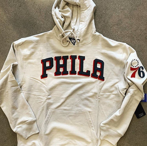 Men's Sixers Striker Hooded Pullover