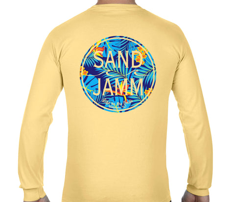 Blue Tropical Long Sleeves - Butter