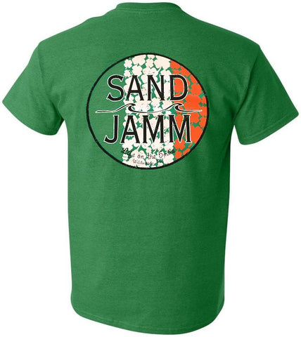 SJ Irish T-Shirt - Antique Irish Green