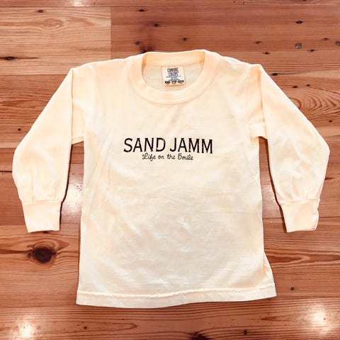 SJ Classic Toddler Long Sleeve Shirt - Butter