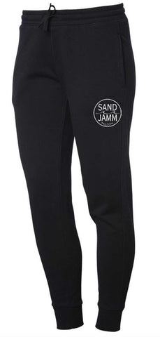Women's SJ Classic Wave Wash Sweatpants - Black