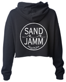 Women's SJ Classic Crop Hooded Pullover - Black