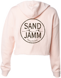 Women's SJ Classic Crop Hooded Pullover - Blush