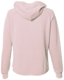 Women's SJ Classic Wave Wash Zip Hoodie - Blush