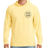 SJ Classic Hooded Long Sleeve Shirt - Yellow