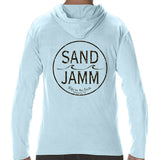 SJ Classic Long Sleeve Hooded Shirt - Light Blue