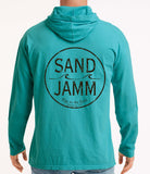 SJ Classic Hooded Long Sleeve Shirt - Sea Foam