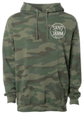 SJ Classic Heavyweight Hooded Pullover - Camo