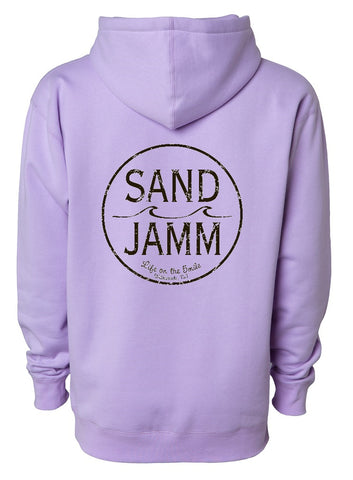 SJ Classic Heavyweight Hooded Pullover - Lavender