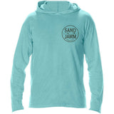 SJ Classic Hooded Long Sleeve Shirt - Mint
