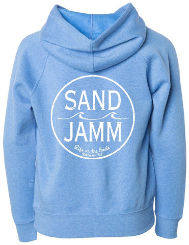 SJ Classic Youth Hooded Pullover - Blue