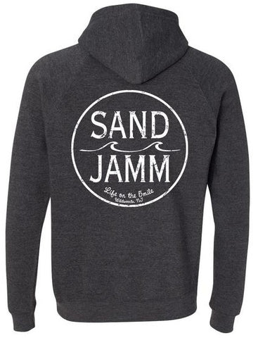 SJ Classic Youth Hooded Pullover - Charcoal