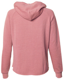 Women's SJ Classic Wave Wash Zip Hoodie - Dusty Rose