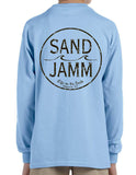 SJ Classic Youth Long Sleeve Shirt - Light Blue