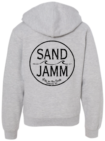 SJ Classic Youth Midweight Hooded Pullover - Grey