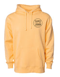 SJ Classic Heavyweight Hooded Pullover - Peach