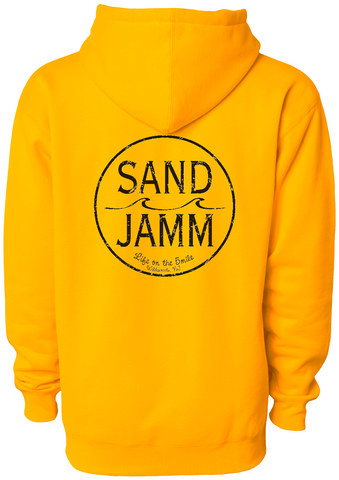 SJ Classic Heavyweight Hooded Pullover - Gold