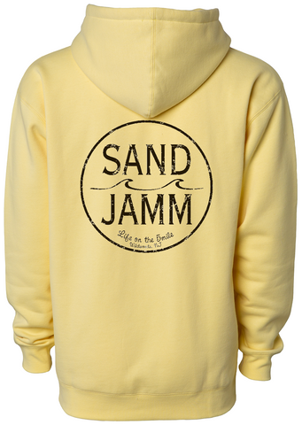 SJ Classic Heavyweight Hooded Pullover - Yellow