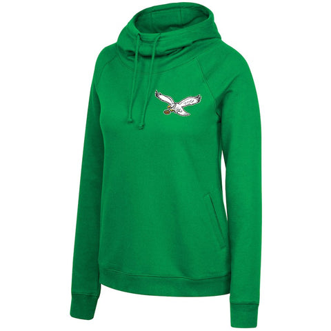 Women's Eagles Funnel Neck Pullover