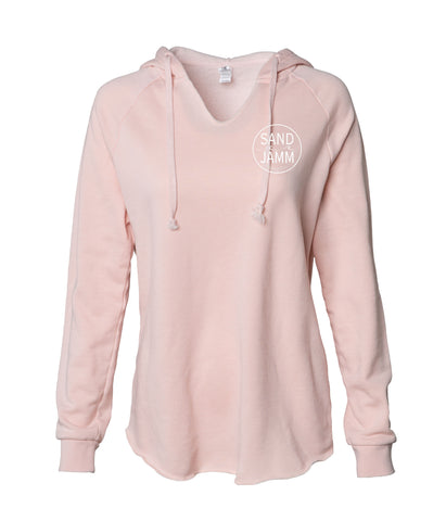 Women's SJ Classic Wave Wash Hoodie - Blush
