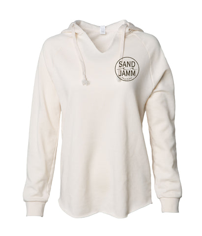 Women's SJ Classic Wave Wash Hoodie - Bone
