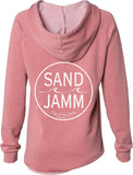 Women's SJ Classic Wave Wash Hoodie - Dusty Rose