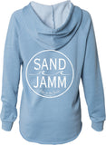 Women's SJ Classic Wave Wash Hoodie - Misty Blue