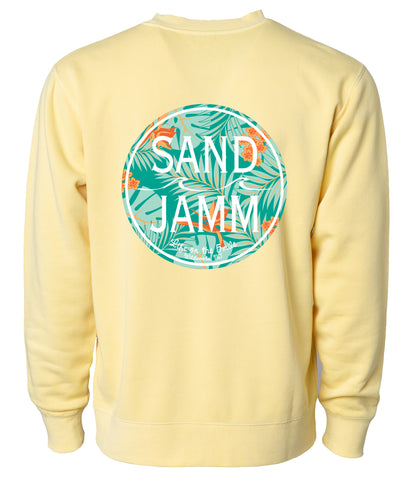SJ Mint Tropical Crew - Yellow
