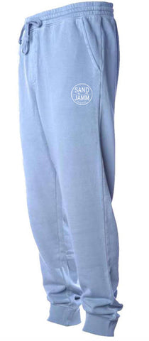 SJ Classic Pigment Dyed Sweatpants - Light Blue