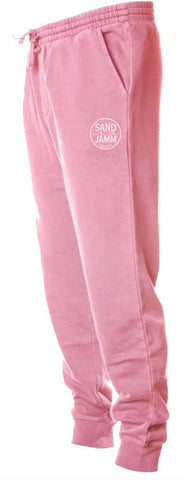 SJ Classic Pigment Dyed Sweatpants - Pink