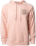 SJ Classic Lightweight Hooded Pullover - Rose