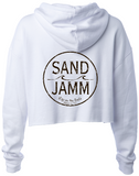 Women's SJ Classic Crop Hooded Pullover - White