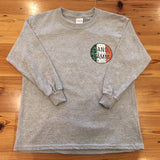 SJ Irish Youth Long Sleeve Shirt - Grey