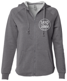 Women's SJ Classic Wave Wash Zip Hoodie - Shadow