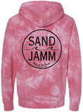 SJ Classic Tie Dye Hooded Pullover - Pink