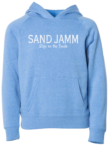 SJ Classic TODDLER Lightweight Hooded Pullover - Pacific Blue