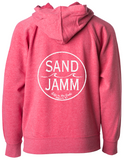 SJ Classic TODDLER Lightweight Hooded Pullover - Pomegranate