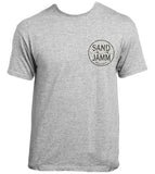 SJ Mint Tropical T-Shirt - Grey
