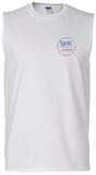 SJ USA Sleeveless Shirt - White