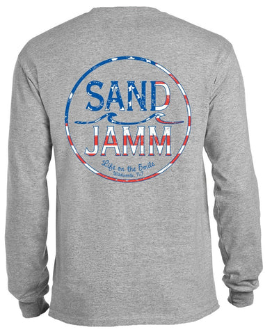 SJ USA Long Sleeve Shirt - Grey