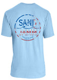 SJ USA T-Shirt - Light Blue